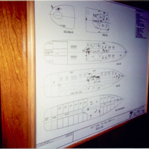 Auro's system panel board/ ship map