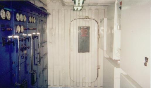 Watch room looking towards entrance door